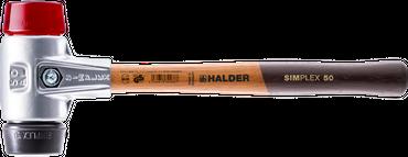 SIMPLEX-Schonhämmer, mit Aluminiumgehäuse und hochwertigem Holzstiel | Ø=50 mm | 3126.050