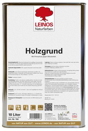 Leinos 150 Holzgrund 10 l