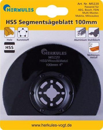 Herkules M5220 HSS Segmentsägeblatt M2 abgekröpft, für Multischleifer – Bild 1
