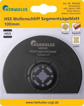 Herkules M5240 HSS Wellenschliff Segmentsägeblatt abgekröpft – Bild 1