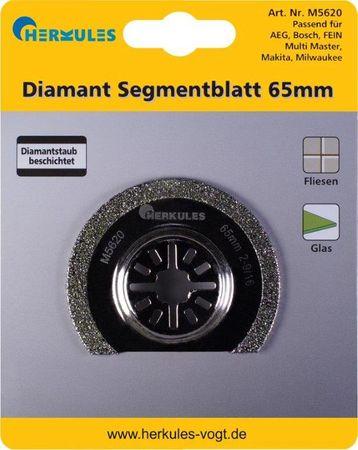Herkules M5620 Diamant Segmentsägeblatt abgekröpft, für Multischleifer – Bild 1