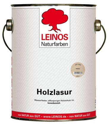 Leinos 261 Holzlasur für Innen 002 Farblos 2,5 l