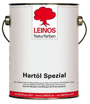 Leinos 245 Hartöl Spezial für Innen 2,5 l