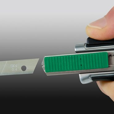 Heyco-PROFI-Cuttermesser 18mm Druckguss – Bild 4