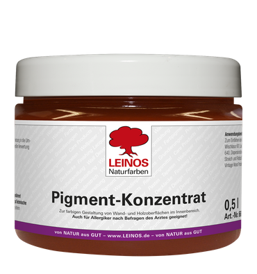 Leinos 668 Pigment-Konzentrat 303 Eisenoxid-Rot 500ml