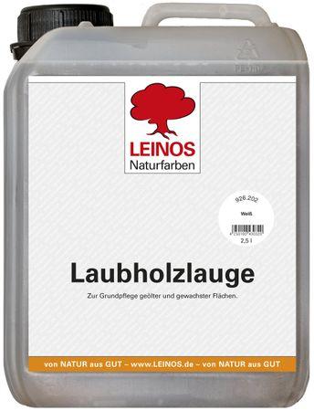 Leinos 926 Laubholzlauge 2,50 l Weiß
