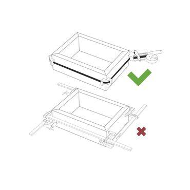 Piher Bandspanner für Rahmen mit Stahlband 500cm  – Bild 3