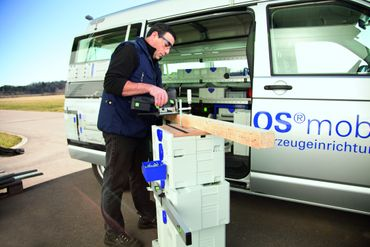 "TANOS Multifunktionstisch ""SYS-MFT"" anthrazit (alles in anthrazit)  – Bild 5"