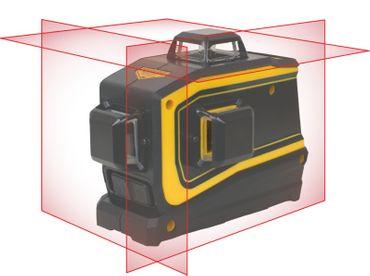 rabo SpectraPrecision LT56 selbstnivellierender Linienlaser Hartschalenkoffer, Garantie 2 Jahre