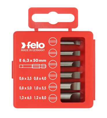 Felo Profi Bitbox 50 mm, 6-tlg SL