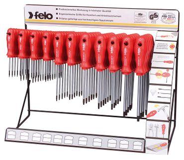 Felo 11 Haken Display Serie 208 Torx, 74-tlg Tx