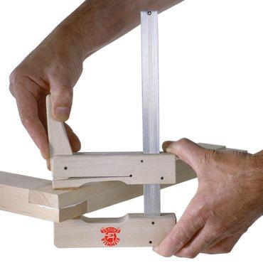 Klemmsia-Zwinge für Profis 1m Spannweite, 110mm Spannweite – Bild 1
