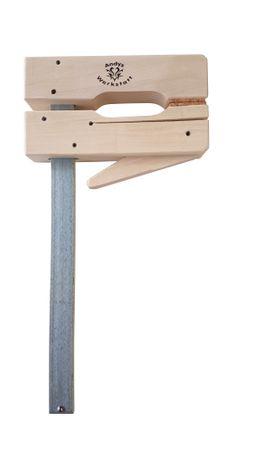 Andys Werkstatt Holzklemmzwinge - 400mm Spannweite, 110mm Ausladung – Bild 1