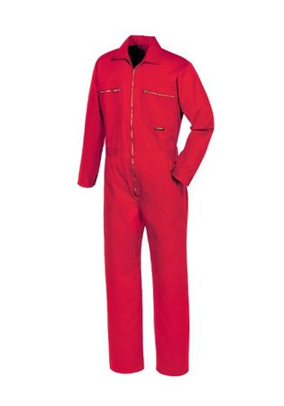 OVERALL, 290 g/m², rot
