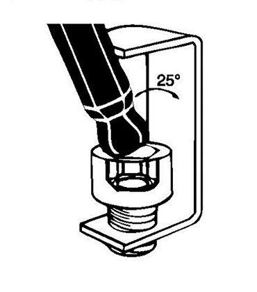 Bondhus Winkelschlüssel-Satz Kugelkopf Stubby SBLX7M metrisch extra lang – Bild 2