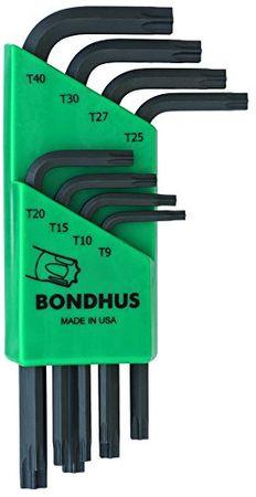 Bondhus Winkelschlüssel-Satz Star Tip TLXS8, 8-teilig - kurz, 31734 – Bild 1