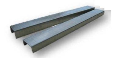 REGUR® 1.000 Flachdrahtklammern Typ 11 - 8mm V2A rostfrei
