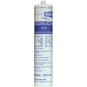 EGOSILICON 111 Lebensmittel-Silikon, transparent 310ml