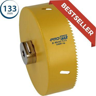 ProFit - HSS Bi-Metall Plus Lochsäge mit Regelmässiger-Verzahnung 133mm