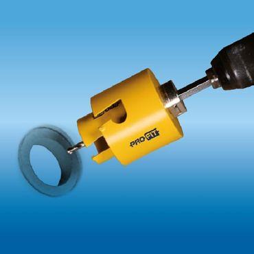 ProFit Multi Purpose Lochsaege 68 MM,  mit Integriertem Adaptor, – Bild 4