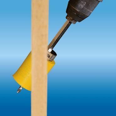 PRO-FIT Multi-Purpose-Lochsäge Ø95mm mit 50mm Nutzlänge - ohne Zentrierbohrer - mit Click&Drill Aufnahme – Bild 6