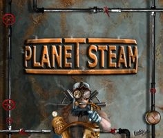 Planet Steam - Das Computerspiel