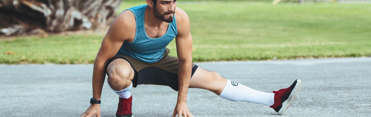 Rehband Running Compression Socks Sports Sleeves Knee Sleeves