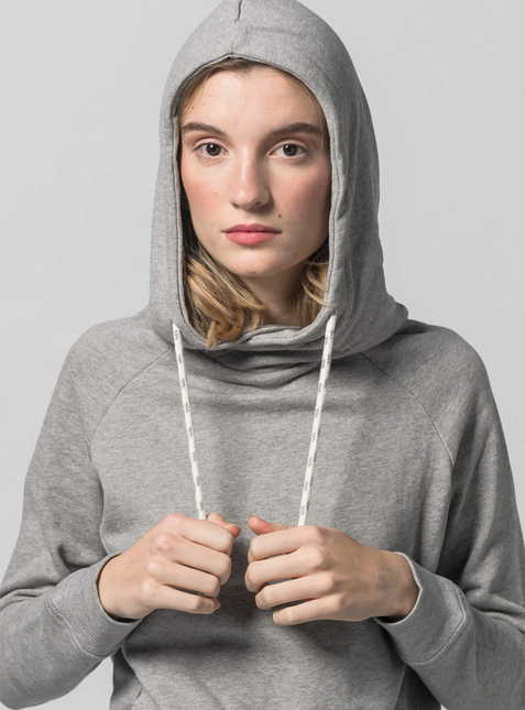 Women's Hoodie light grey blend