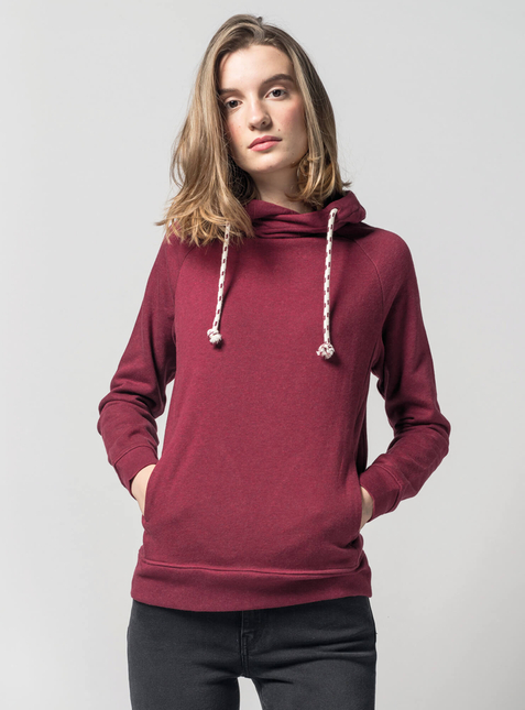 Women's Hoodie red blend