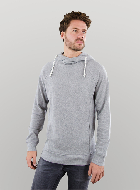 Men's Hoodie light grey blend