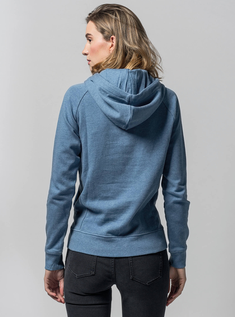 3-Pack Women's Hoodie blue/grey/red