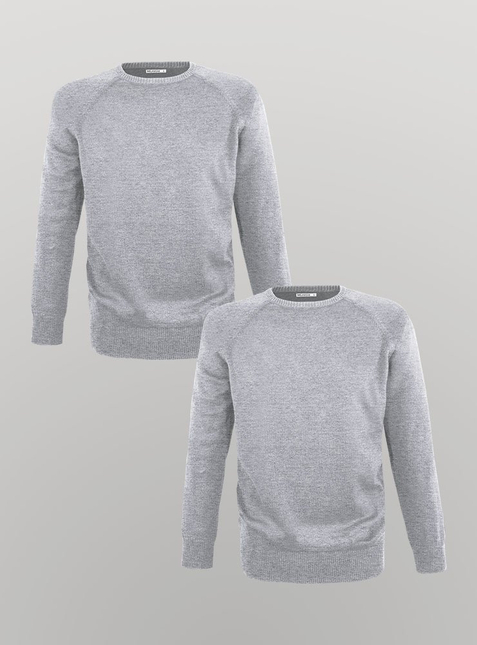 2-Pack Men's knit pullover  – Bild 3