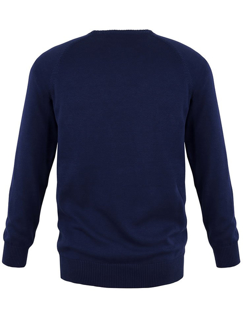 2-Pack Men's knit pullover blue/grey-melange