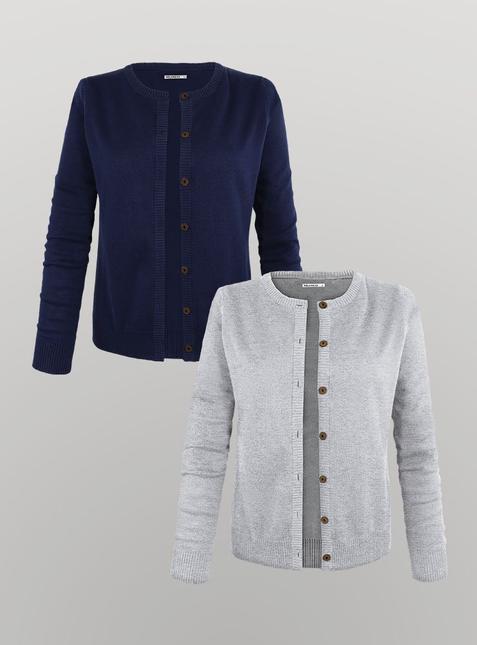 2er Pack Damen Cardigan – Bild 1