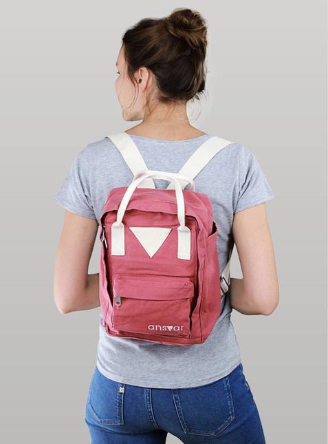 Mini Backpack ansvar IV altrosa