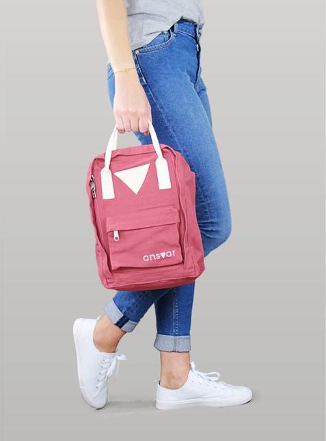 Mini Backpack ansvar IV vintage red