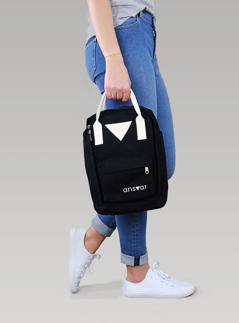 Mini Backpack ansvar IV black