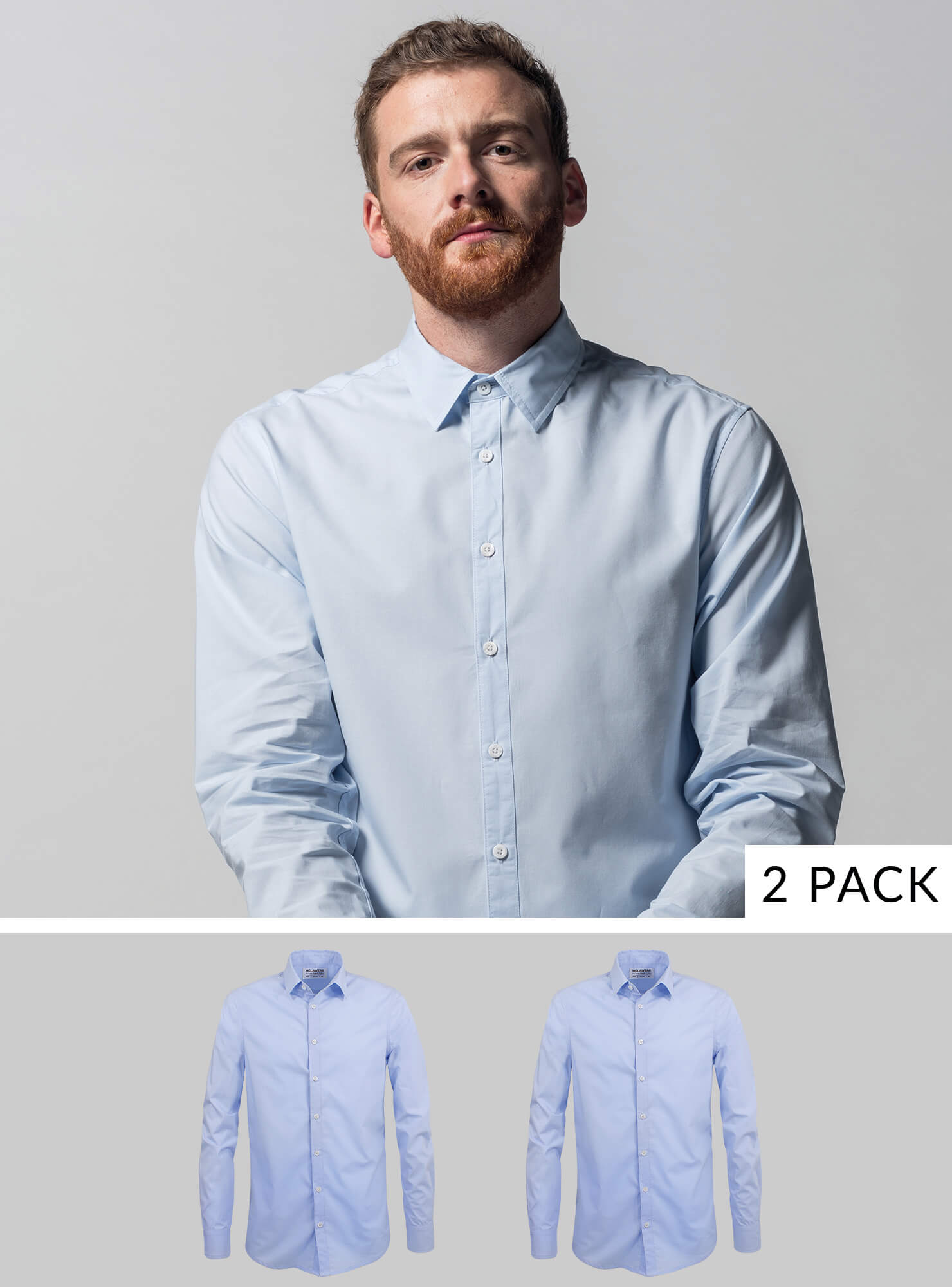 2-Pack Men's Shirt