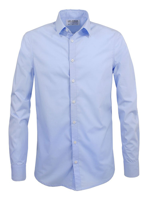 2-Pack Men's Shirt white/light blue