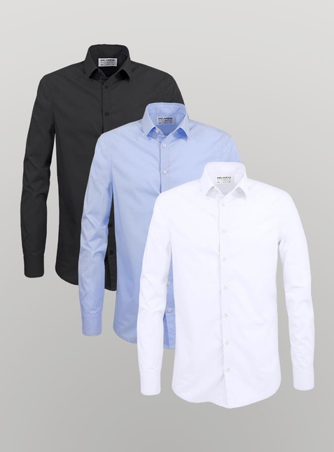3-Pack Men's shirt – Bild 1