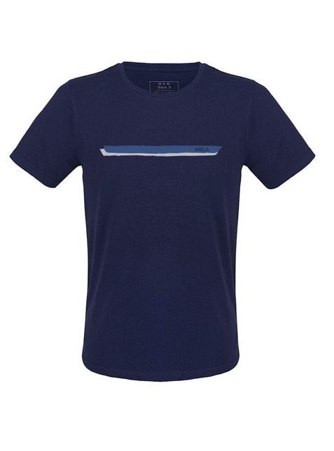 "Men's T-Shirt ""Stripes"" blue"