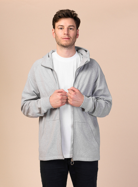 Men Hooded Sweatshirt Jacket TARUN