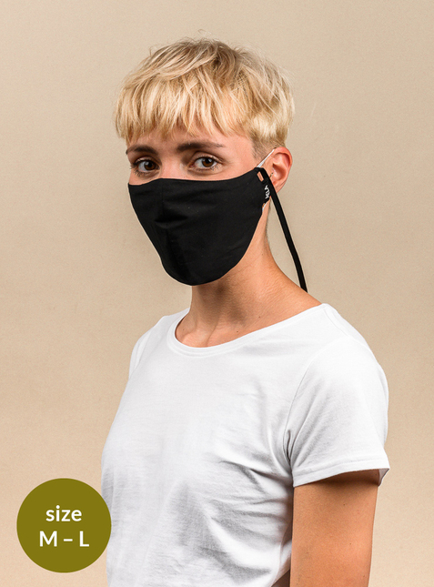 Mouth-nose mask  - Size M-L - Toxin-free according to GOTS