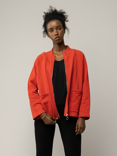Women Sweatshirt Jacket UMA