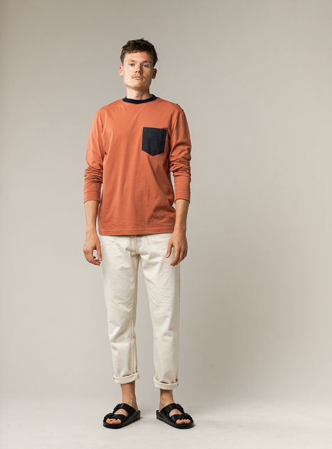 Men Longsleeved Shirt SANJAY