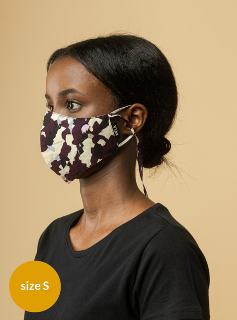 Mouth-nose mask  - Size S - Toxin-free according to GOTS
