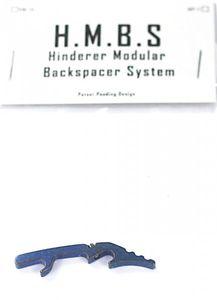 RICK HINDERER H.M.B.S. BACKSPACER TITAN BLAU