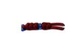 CHRIS REEVE LANYARD SMALL BURGUNDY BLUE BEAD