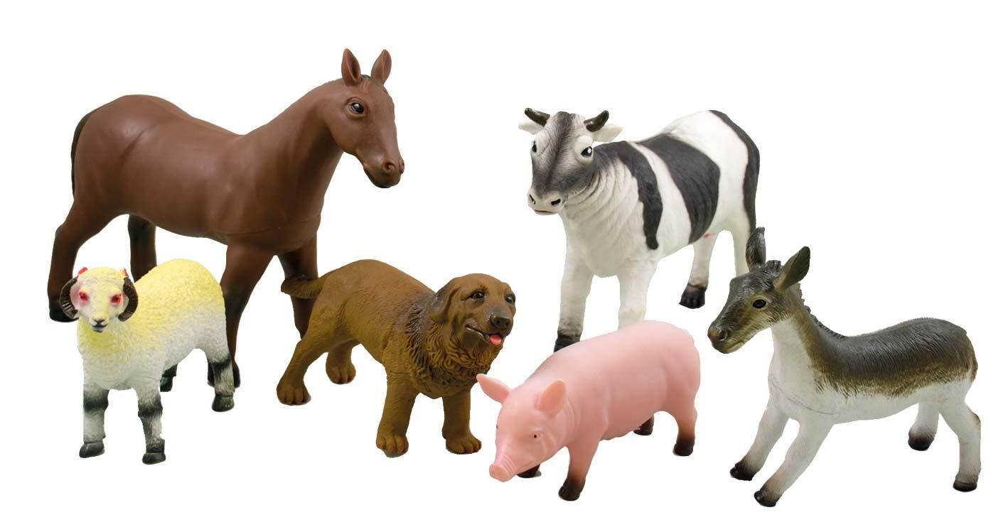 Bauernhoftiere 6er Set