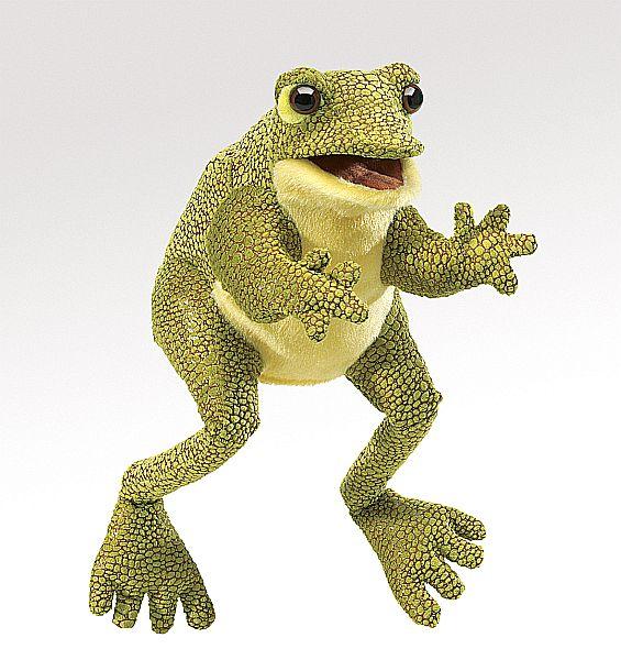 Folkmanis Handpuppe Frosch
